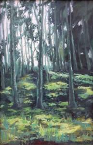 Miguel Massaさん「Backlight trees」