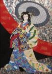 「滝夜叉姫」 中西麻莉子