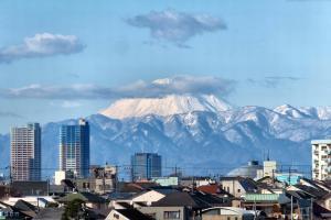 富士山と丹沢