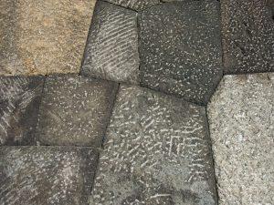 桜田門の石積み