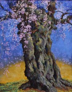 奥田久子 「信濃の一本桜」