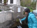 ピアモンテの水汲み場