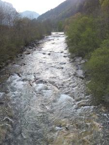 ピエモンテ州のきれいな川