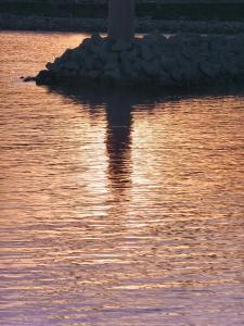 インペリア港の灯台