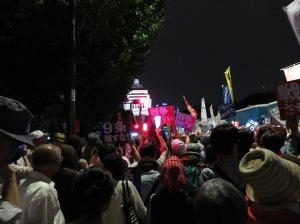 2015 戦争法案デモ