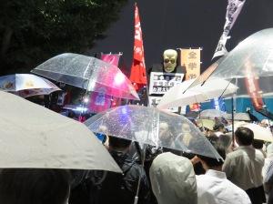 戦争法案デモ 2015