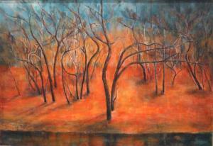 田村 直樹さん  水辺の木々